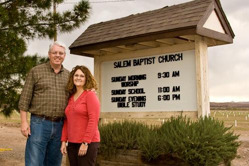 Salem Baptist Church, Salem, NM